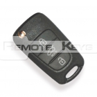 Kia flick key with 3 button remote control