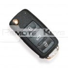 Seat Alhambra flick key with 3 button remote